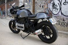 WOW! BMW K100 Cafe Racer by Nitro Cycles #motorcycles #caferacer #motos   caferacerpasion.com