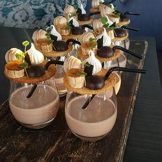 Banana and Chocolate Milkshake #pastrychef #patisserie #dessert #dessertmasters #pastry