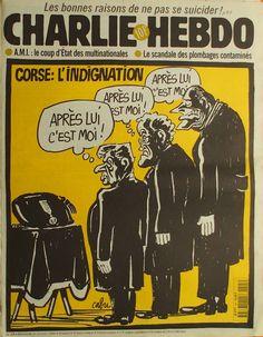 Charlie Hebdo - # 295 - 11 Février 1998 - Couverture : Cabu