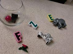 Teaching ABCs to toddler