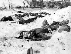 The Malmedy massacre, near the Belgian town by the same name, in which 80 American prisoners of war were murdered by their German captors during World War II. The massacre was committed on December 17, 1944, by members of Kampfgruppe Peiper (part of the 1st SS Panzer Division), a German combat unit, during the Battle of the Bulge.
