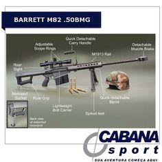 Barrett M82 .50BMG