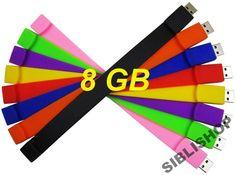 40 bransoletka pamięć USB pendrive 8GB flash U8