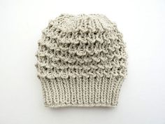 Love the simplicity of this. LouLou Knit Slouch hat by tortilla girl