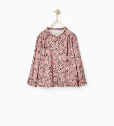 Imagen 1 de Camisa flores de Zara