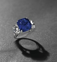 The Star of Kashmir, a 19.88-carat Kashmir sapphire and diamond ring, Christies Geneva (sold for over $3.4 million!