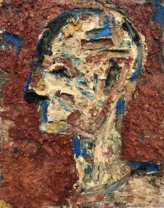 Original Abstract Painting by Elham Hemmat Mixed Media Painting, Mixed Media Canvas, Mixed Media Art, Abstract Expressionism, Abstract Art, Abstract Portrait, Portrait Art, Original Art, Original Paintings