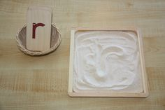 Sandpaper Letters & Sand Tray