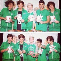 Green.<3 Like leprechauns. For Niall.<3