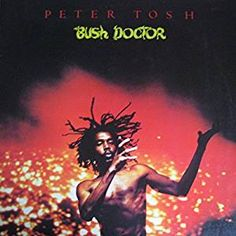"""Peter Tosh - Bush Doctor is the third studio album by Jamaican reggae musician Peter Tosh. The single from the album, a cover version of The Temptations song """"Don't Look Back"""", performed as a duet with Mick Jagger, made Tosh one of the best-known reggae a Peter Tosh, Progressive Rock, Vinyl Music, Lp Vinyl, Vinyl Records, Bob Marley, The Temptations Songs, Rolling Stones, Positive Songs"""