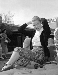 Grace Kelly in Las Vegas.