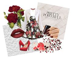 """""""#ROSELOVER"""" by koshenkovas on Polyvore featuring Chanel, Jessica Simpson, Kate Spade, Charlotte Russe и Lime Crime"""