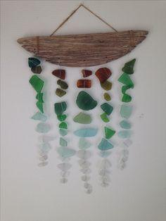 Sea glass hanger. Ditte Jensen