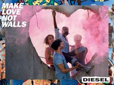 Diesel-make-love-not-walls-david-lachapelle