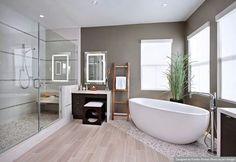 Spa bathroom, a girl can dream