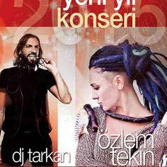 2014'ün son gecesinde Özlem Tekin ve DJ Tarkan Cumhuriyet Meydanında | İzmir'de Sanat