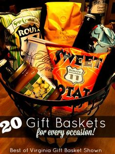 20 Gift Baskets for Every Occasion!