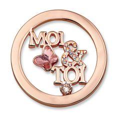 Moi & Toi Rosegold Plated size S | Mi Moneda