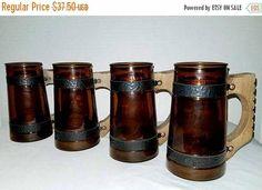 Vintage Siesta Ware Beer SteinVintage BarwareSiesta