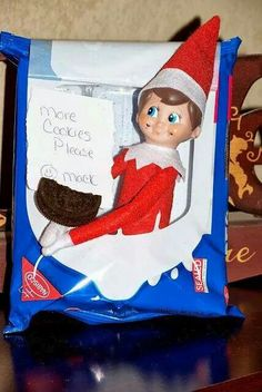Elf needs more cookies please