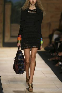 Macrame mini dress