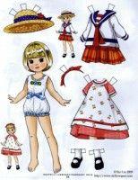 Gallery.ru / Фото #48 - Бумажные куклы - Tawa