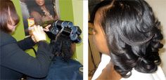 Dominican Stylists Train Black Stylists on the Coveted Dominican Blowout