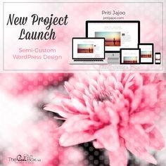 Priti Jajoo Project Launch - WordPress Blog Design, Yoga Blog, Lifestyle Blog, Health Blog:  http://pritijajoo.com/
