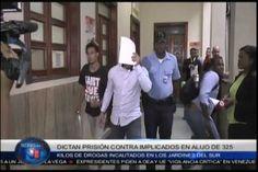 Dictan prisión contra implicados en alijo de 325 kilos de droga incautados en Los Jardines