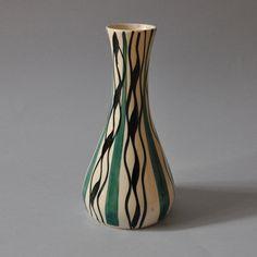 Ręcznie malowany wazon Włocławek – proj. Wit Płażewski