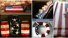 American Flag Inspired DIY Projects to Show Your Patriotic Side   DIY Joy Projects and Crafts Ideas