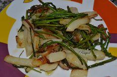 Mi Diversión en la cocina: Patatas fritas con espárragos trigueros