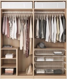 IKEA - PAX Wardrobe white stained oak effect, Nexus Vikedal