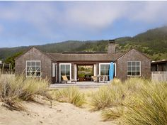 A wood beach house