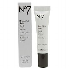 THE BEST ACNE SPOT TREATMENT! overnight results, BOOTS NO.7 rapid spot rescue!