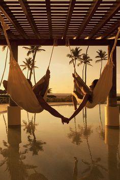 Tú... Yo... Disfrutando del atardecer... ¡Piénsalo! #BestDay #OjalaEstuvierasAqui #PuntaCana