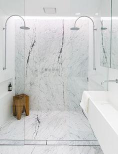 Le marbre dans la décoration d'une maison à Sydney (9)