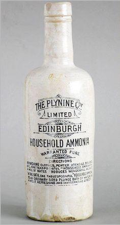 c. 1900 ammonia bottle
