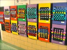 2nd grade weavings