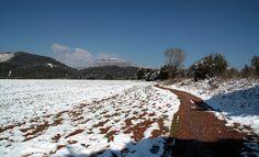 El camí #Terrassa #neu #snow