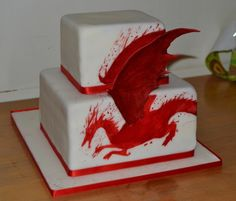 Nerd Noms of the Day: Dragon Age Cake!