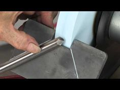 Sharpening Woodturning Tools Freehand - YouTube