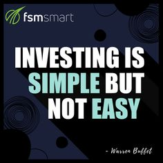Just like in any field, success can only be achieved with effort.   FOLLOW us on Twitter and get regular market updates and educational tips!  #FSMSmart #FSMSmartReviews #Trading #Investing #Finance #Quotes #Graphics #Motivation Finance Quotes, Online Trading, Forex Trading, Stock Market, Effort, Buffet, Investing, Success, Graphics