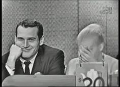 Paul Newman on what's my line