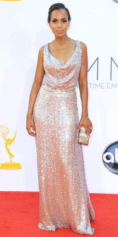Sexiest Emmys Looks Ever - Kerry Washington in Vivienne Westwood, 2012