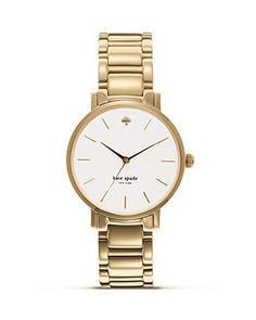 kate spade new york Gramercy Bracelet Watch, 34mm | Bloomingdale's
