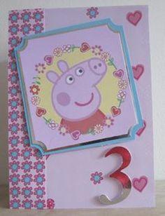 Peppa Pig Birthday Card