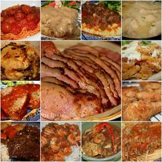 A collection of main dish favorites, sides and desserts for Sunday dinner from Deep South Dish.