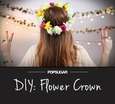 DIY: This Flower Crown Will Make You a Music Festival Hit