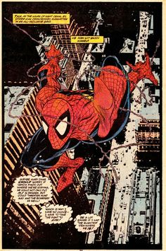 The Amazing Spider-Man (illustrated by Todd McFarlane; Marvel Comics).